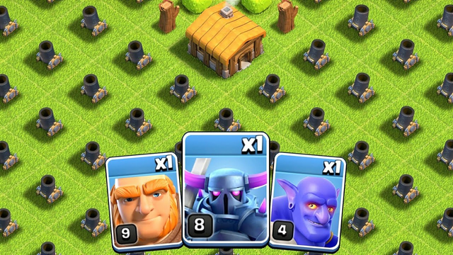 Full Base of Level 1 Motor vs Every Single Troop | Coc Most Satisfying Video