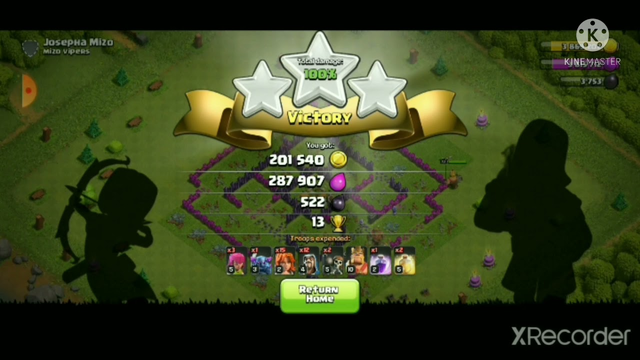 clash of clans full gaming attack townhall 7 || clash of clan for beginner