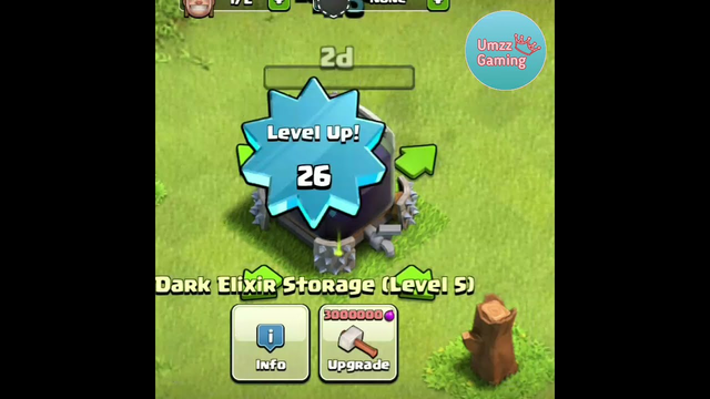 MAX DARK ELIXIR STORGE Upgrading with Gems In Clash of Clans #shorts #clashofclans #versus  #viral