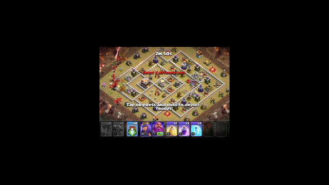 Attack in clan war,town hall 11 base || Clash of clans || with using level 7 dragon or level 8 loons