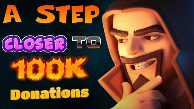 COC LIVE// A Step Closer to 100K Donations Can we do it??- Clash Of Clans