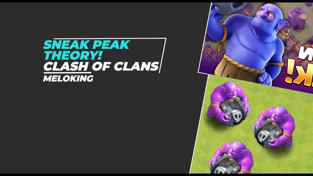 SUPER BOWLERS? Clash of Clans Sneak Peak Theory!