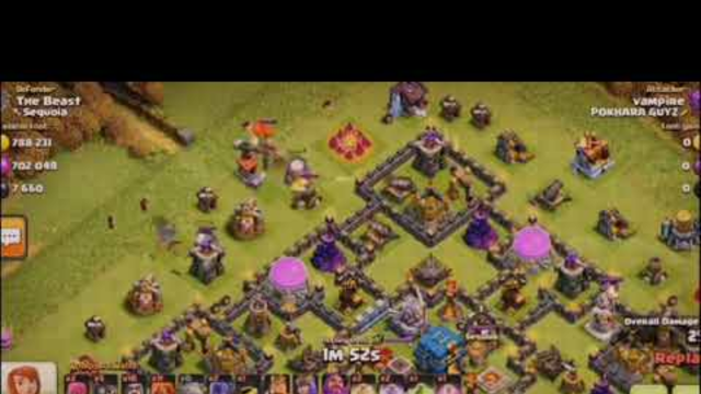 Best loot golem,valkary and wizard :COC
