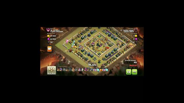 Dragon Rider + Dragon Army Attack.. Coc || Clash of clans ||