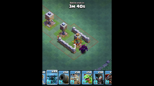 ALL LEVEL OF CRUSHEE VS SUPER P.E.K.K.A IN CLASH OF CLAN #short #coc #clashofclan #gamingvideos