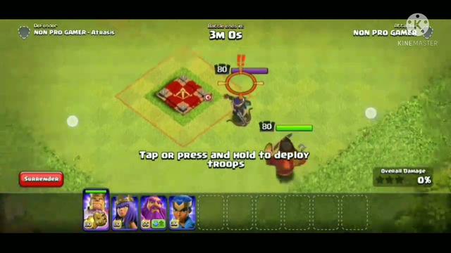 King vs queen | clash of clans
