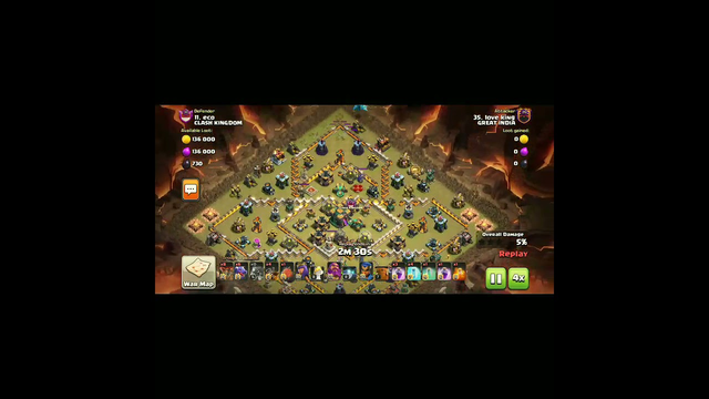 Town Hall14 War Attack Strategy.. Coc    Clash of clans   
