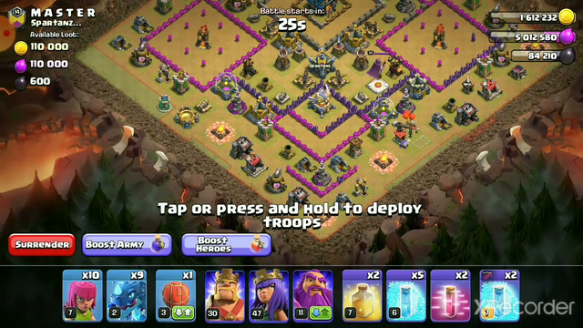 clash of clans war new video with 3 star #clashofclans