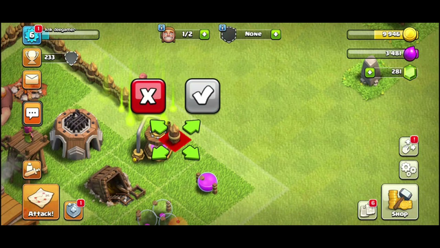 Clash of clans Building everything after town hall 3 upgrade || Canon, army camp, Laboratory
