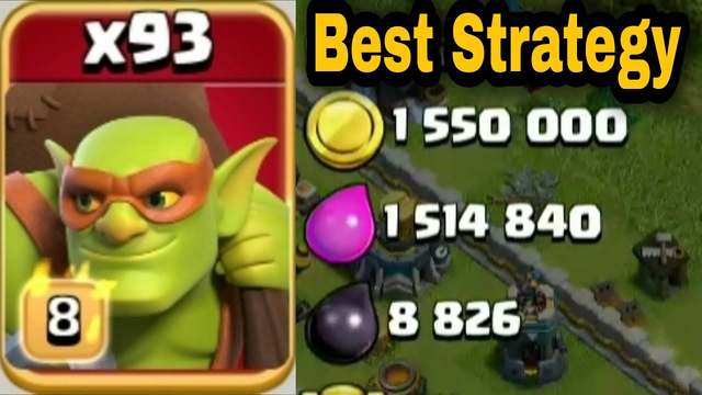 Sneaky Goblin Farming is the BEST STRATEGY in Clash of Clans