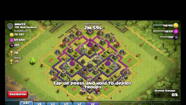Playing clash of clans part 3