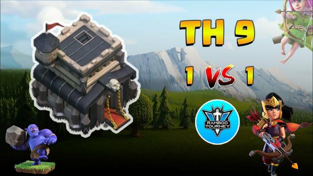 TownHall 9 | 1vs1 | Finals | Tournament | Clash of Clans | CoC