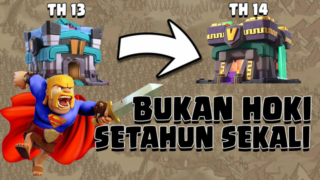 INI BUKAN HOKI SETAHUN SEKALI ,TH 13 MERATAKAN TH 14.COC INDONESIA