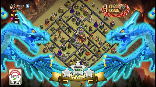 Best Attack TH11 VS TH10 Clash Of Clans