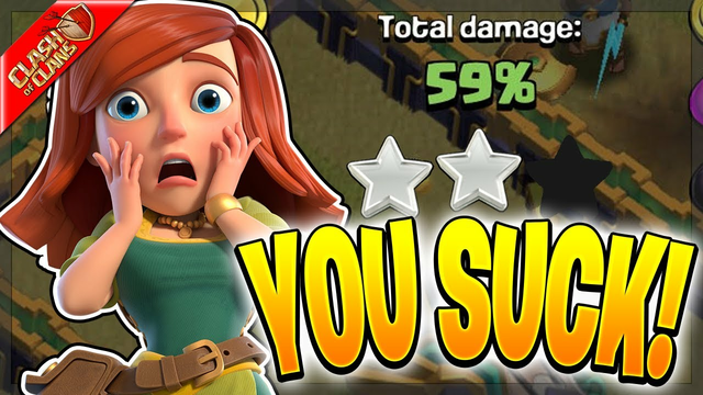5 Reasons Why YOU SUCK AT CLASH OF CLANS!