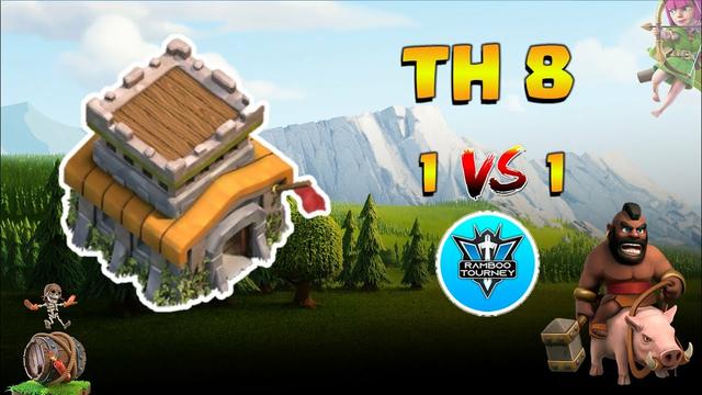 TownHall 8   1vs1   Finals   Tournament   Clash of Clans   CoC