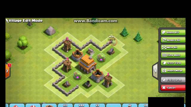 Clash of Clans Town Hall 5 base Baza