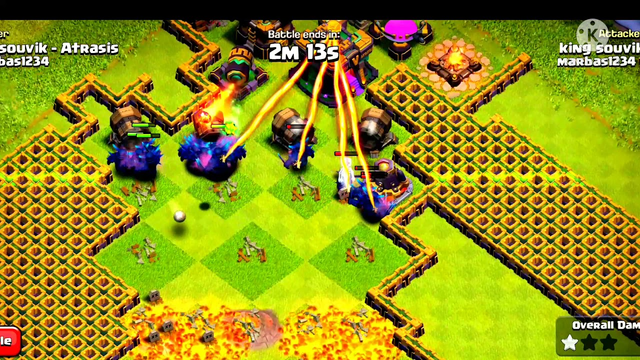 Clash Of Clans All Troovs All Defense     #coc#clashofclans#cocalltroops#sumit007#cocattack