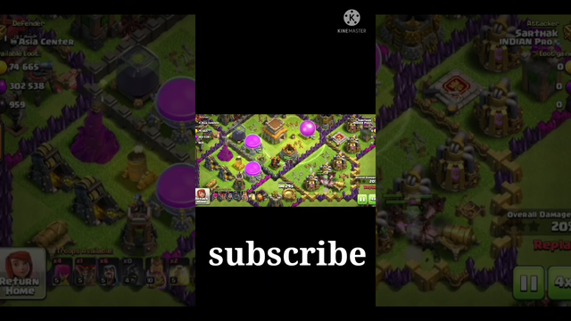 clash of Clans gameplay - How to attack on Townhall 8 - Best attack in my life - #techno gamez #coc