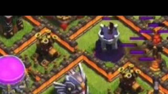 2 Air Defenses Upgrading, 1 Down? No Problem!   Clash of Clans Town Hall 11 Black Hole Base Defense