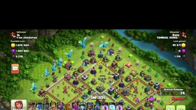 Clash of Clans - Another Casual Random Raid with 1M/1M/10k