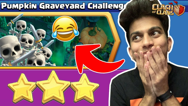 SUPERCELL Gave us Impossible Challenge - Pumpkin Graveyard Challenge - Clash of Clans | COC