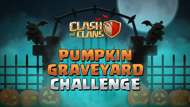Pumpkin Graveyard Challenge | Clash of Clans