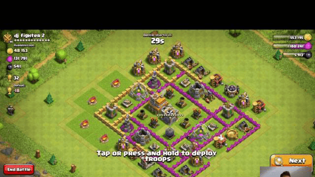 Clash of Clans ep.2 :D Napadamo za loot :)
