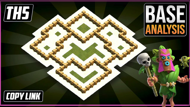NEW ULTIMATE TH5 HYBRID/TROPHY Base 2021!! COC Town Hall 5 (TH5) Trophy Base Design - Clash of Clans
