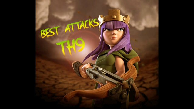 BEST ATTACK STRATEGY (2021) | TOWN HALL 9 ATTACKS | CLASH OF CLANS