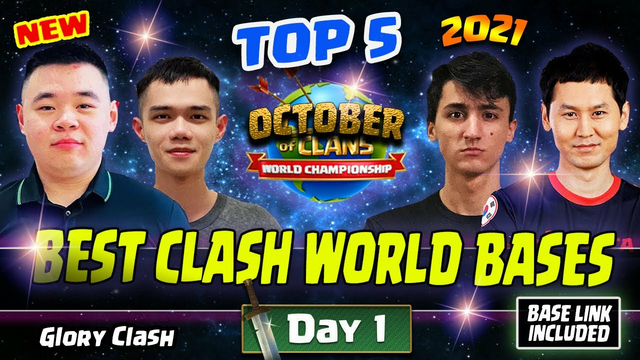 NEW Best Clash World Qualifier Base October 2021 Day 1 / Th14 War Base With Link / Clash of clans