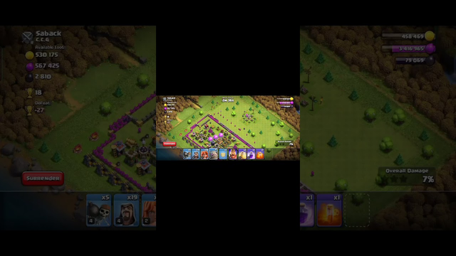 clash of clans gameplay #cocshorts #videogames
