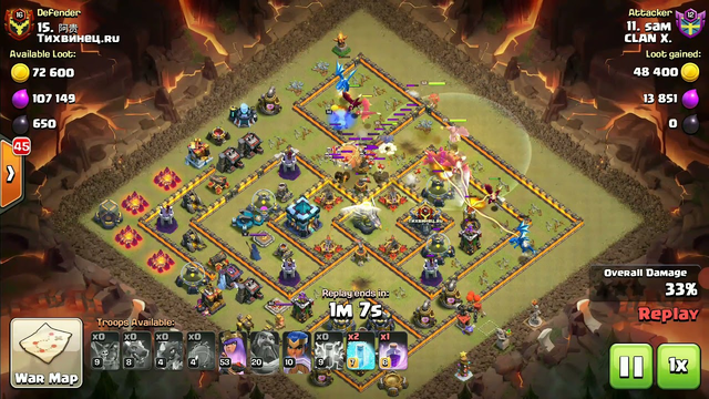 Clash of Clans    TH  13  ATTACK 0002