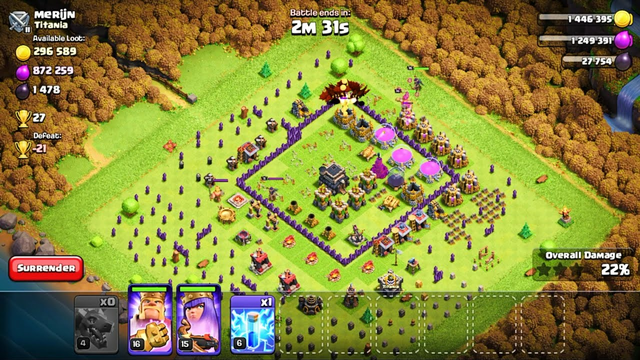 Clash of Clans Gameplay Part 3