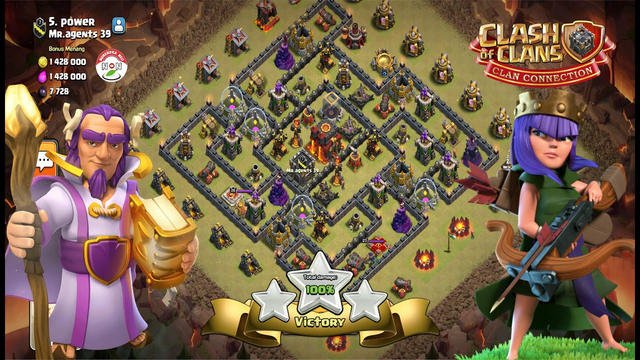 Clash Of Clans - Clan War League Round 5 VS Mr Agents 39 Power