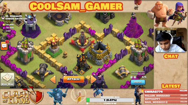 Clash of Clans, Pushing to Master League with Viewers! 13-Oct-2021 Twitch Live