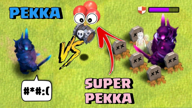 Super Pekka VS Max level troops All - Clash of Clans