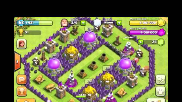 Clash Of Clans:Life of a Farmer: 12 Million 2,000 Resources!!!