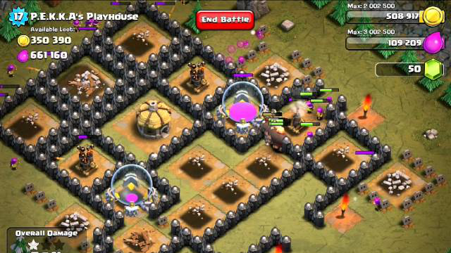 [EXPIRED] Clash of Clans, Level 49 P.E.K.K.A's Playhouse 100% (Screen recording)