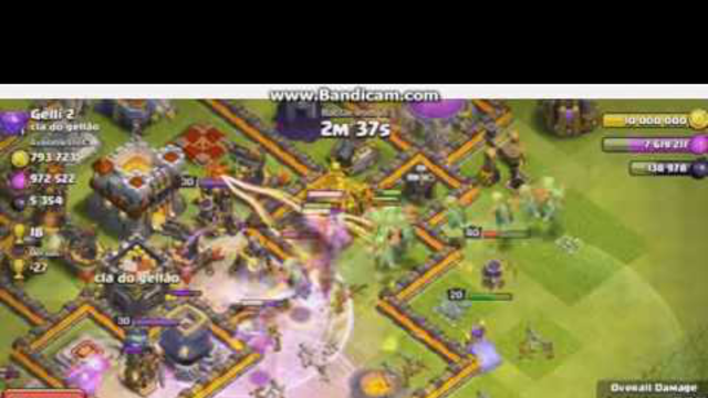 Clash of Clans BaBy Dragon attacker (official video 2016)