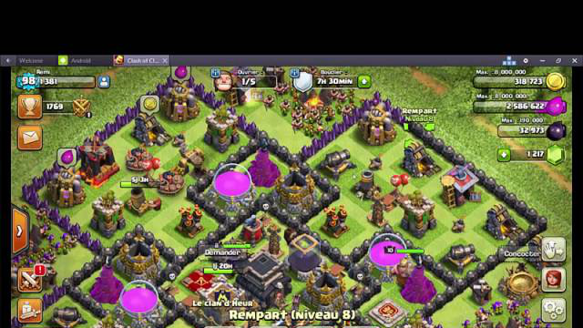 [HD]COMMENT FARMER SUR LA NOUVELLE MAJ CLASH OF CLANS