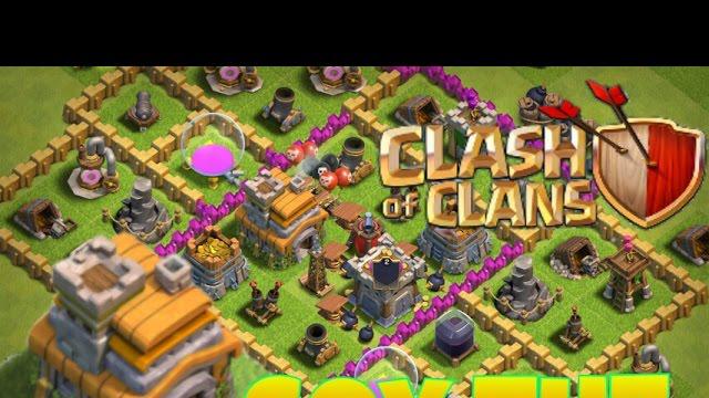 Clash of clans - SOY Ayuntamiento 7!!!!