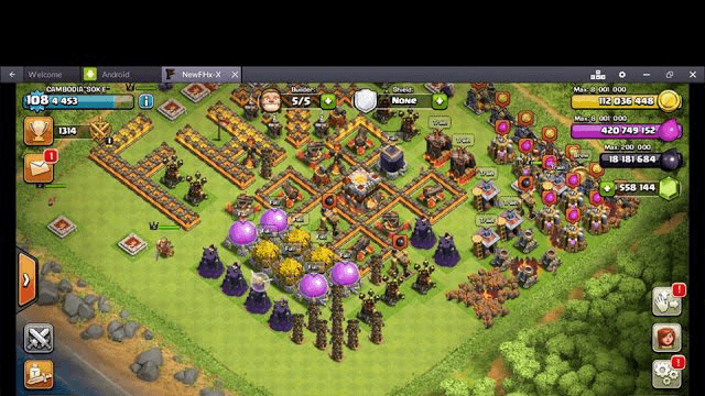 Clash of Clans Upgrade so faster || Clash of clans server privato (fhx)