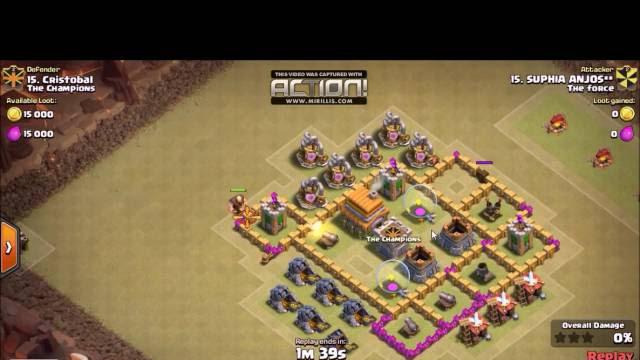 atk nub #3  clash of clans