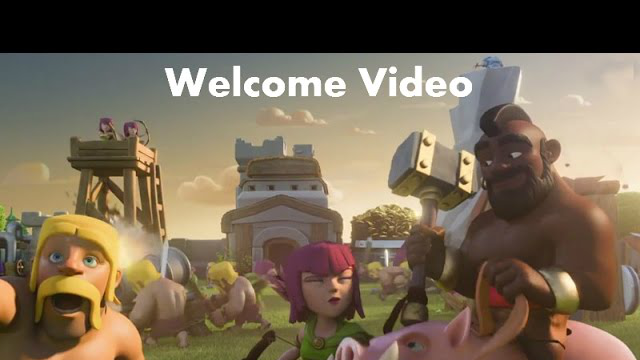 Clash of Clans war replays on funny clan attacks (welcome video)