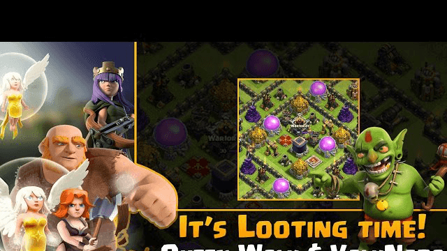 Clash of Clans - It's Looting Time: Queen Walk GiViz, GiVaLo, GiVaHo or Valkyrie Tornado