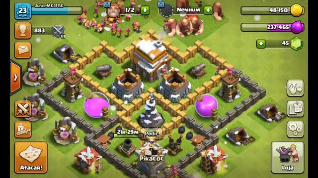 layout cv 5 clash of clans - Layout Cv 4 Guerra
