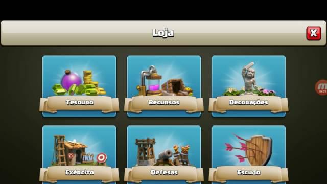 Jogando clash of clans parte#1