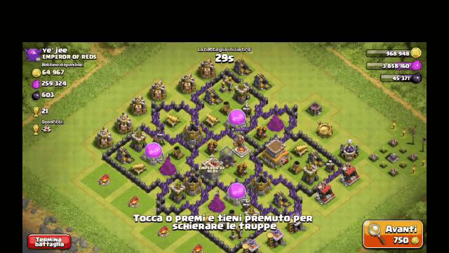 Failiamo con la Lavallons- Clash of Clans