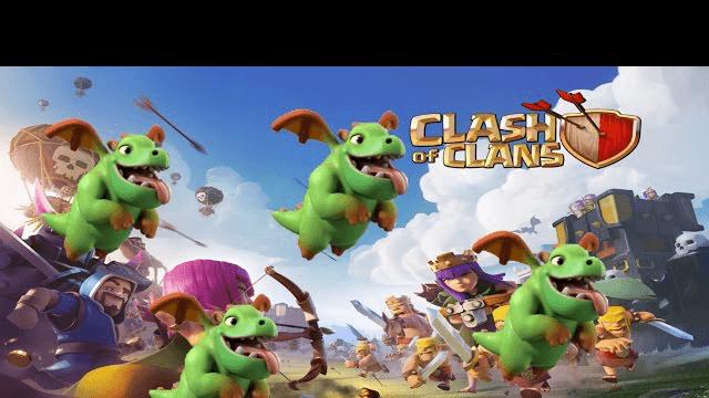 TODO BABY DRAGONS / TODOS A UNA *1* / Clash of Clans